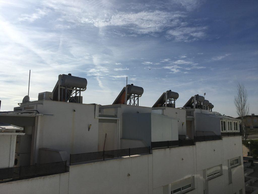 Mantenimiento placas solares en comunidades