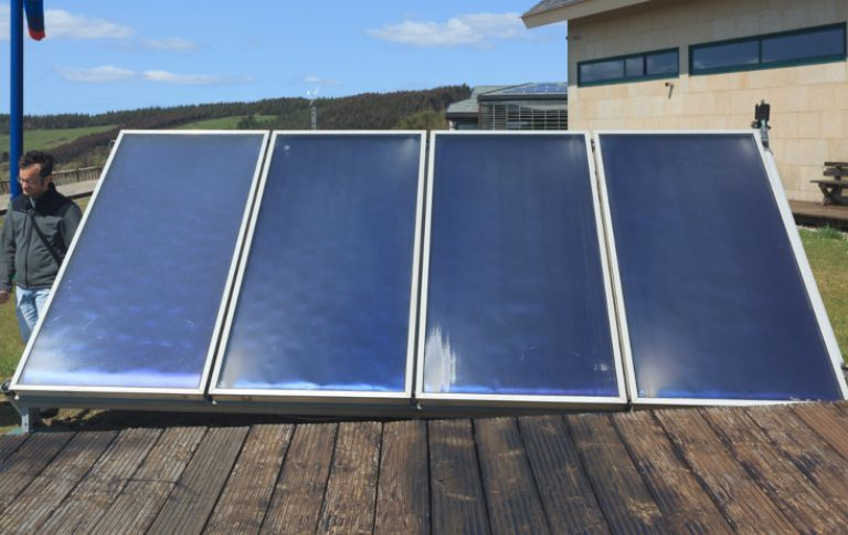 Placas solares agua caliente Cordoba