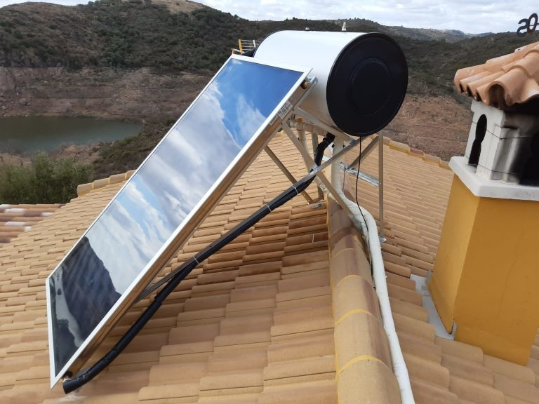 Placas solares agua caliente en Córdoba
