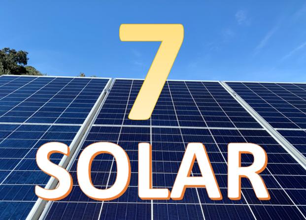 Plan 7 placas solares