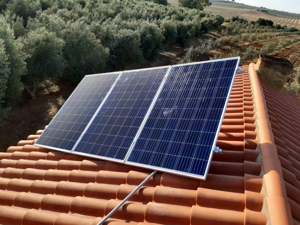 Solución contra el cambio climático en Córdoba. Energías renovables